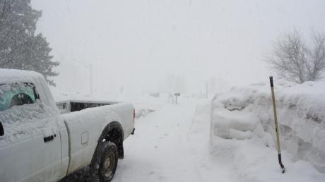Snowburst on the Buffalo Ridge
