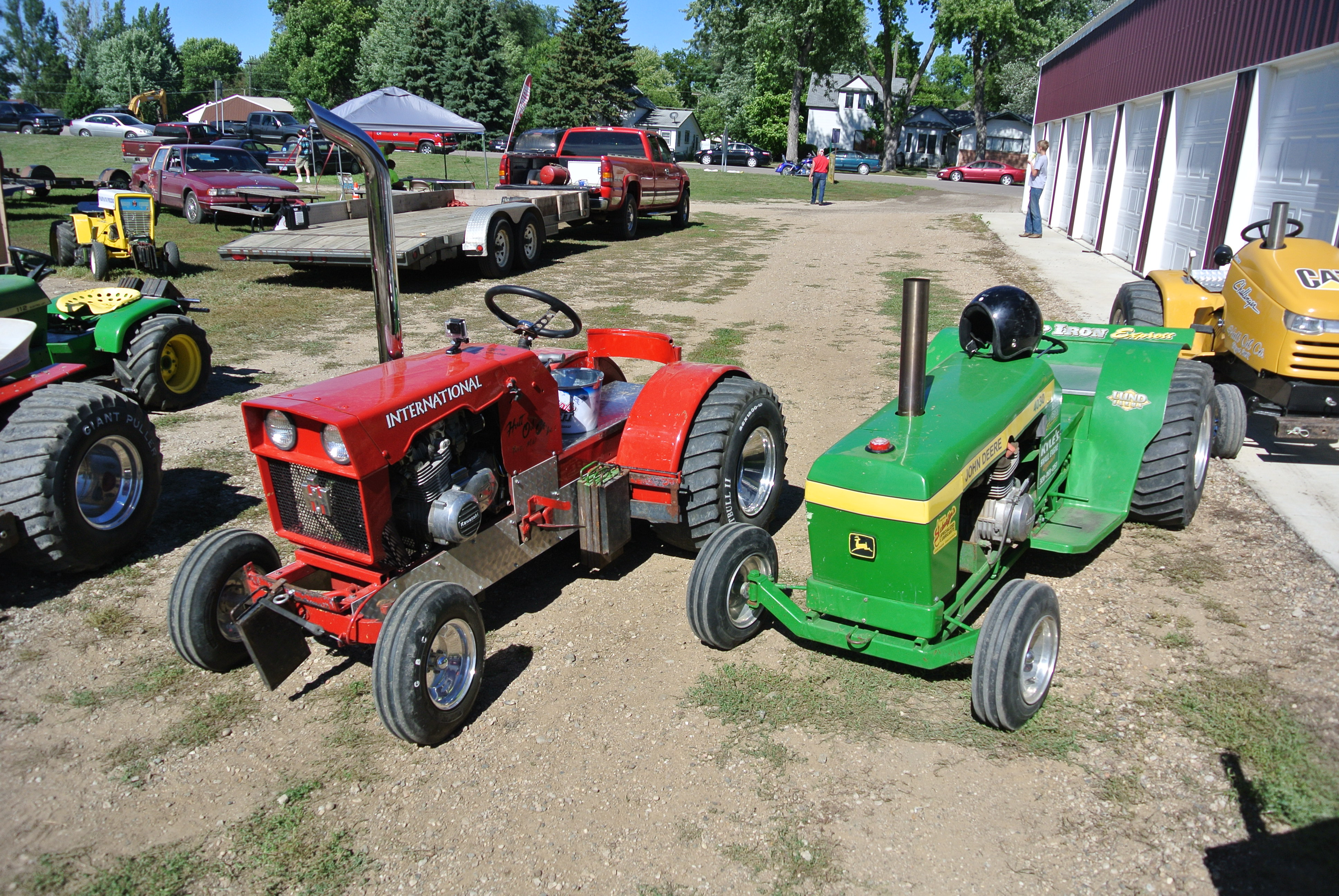 Lawn Garden Tractor Pulling : What i been up too… gearheadgrrrl